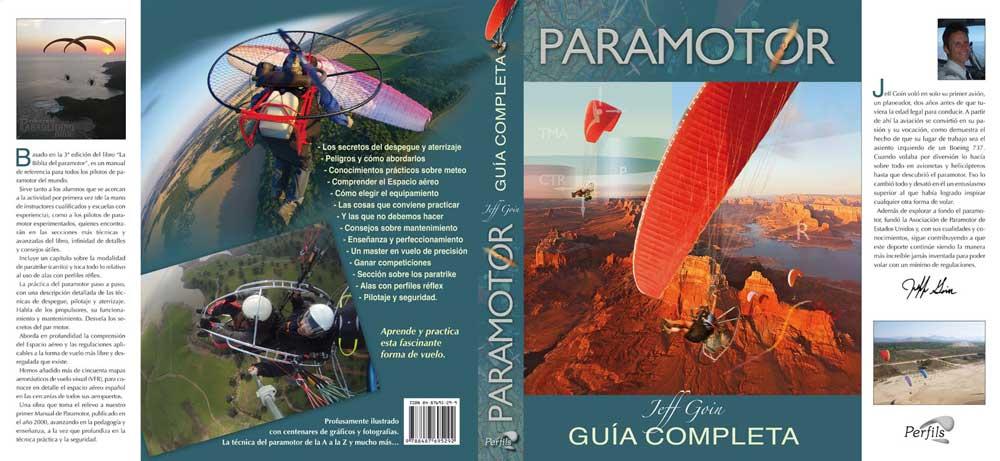 """Cubierta """"Paramotor, Guía completa"""""""